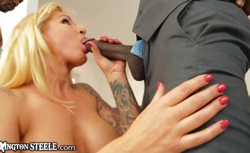 MILF Ryan Conner gets 5 Huge Black Dicks |36,909 views