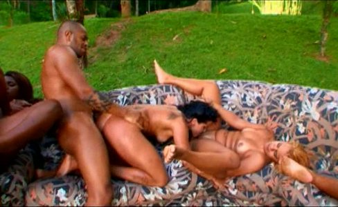 Big Bubble Butt Brazilian Orgy 12|33,032 views