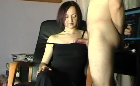 huge cumshot on Maya black dress|23,152 views