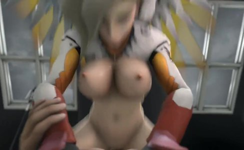 Mercy in Overwatch have sex|7,822 views