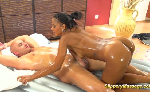 black teens slippery footjob massage|26,826 views