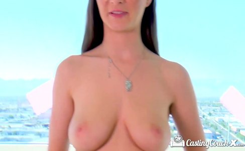 CastingCouch-X - Tall girl with natural boobs|58,380 views