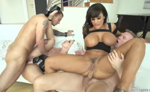 Katja Kassin & Lisa Ann - Group DP|88,229 views