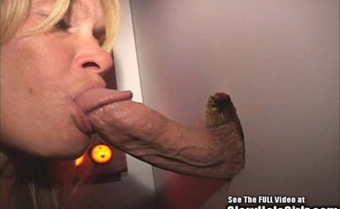 Blonde Wife Blowjob Whore Swallows Semen in Glory Hole|120,478 views