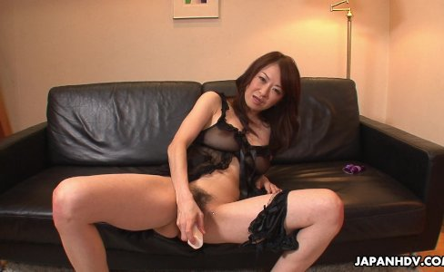 Hot and arousing Asian milf toy fucking her wet muff|42,929 views