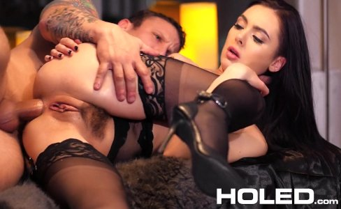 HOLED - Sultry Marley Brinx hot candle wax play and anal - New Site|49,690 views