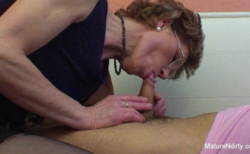 Mature slut with glasses enjoys getting fucked|65,347 views