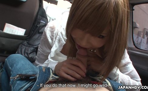 Miyashita loves to be publicly toy stuffed by her man|2,559 views