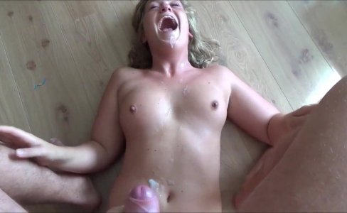 Leaving her drenched in his cum|300 views