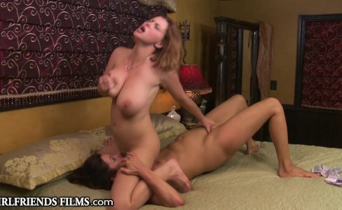 GirlfriendsFilms Sara Stone Facesits on Cougar|116,675 views