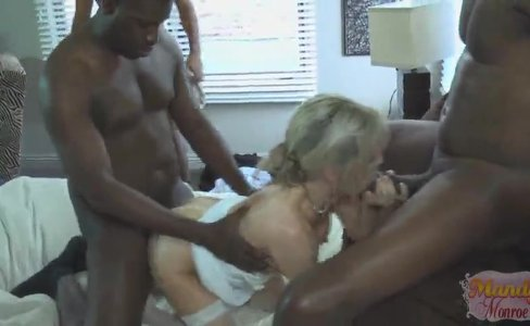 Mandy Monroe wedding creampie|66,385 views