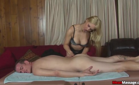 Sexy blonde masseuse|504 views