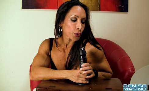 Denise Masino - My Office Jerk Video - Female Bodybuilder|22,659 views