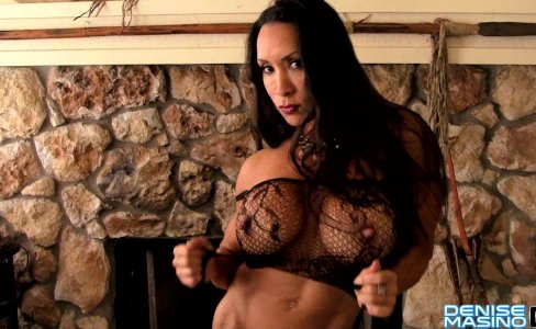 Denise Masino - Fire and Lace Video - Female Bodybuilder|28,924 views