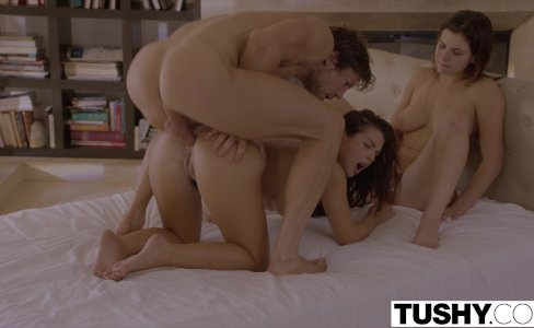 TUSHY First Anal For Best Friends Keisha Grey and Leah Gotti|371,093 views