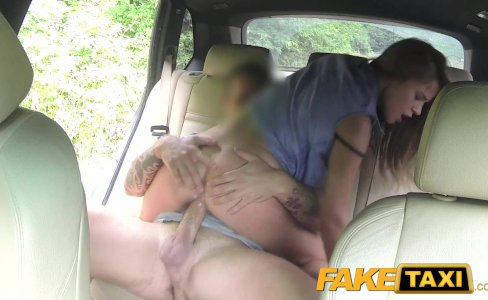 Fake Taxi Lady wants to see drivers big cock|435,173 views
