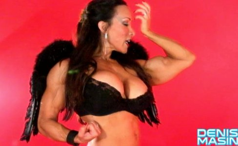 Denise Masino - Cupids Arrow Strikes Again - Female Bodybuilder|8,392 views