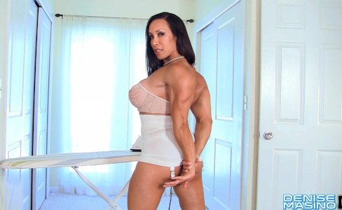 Denise Masino - Muscle Bombshell Video - Female Bodybuilder|42,422 views