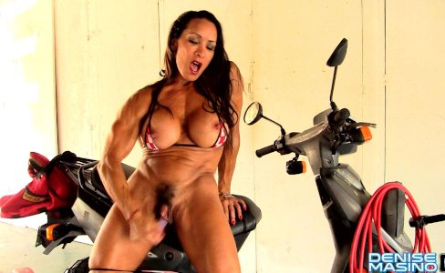 Denise Masino - Full Speed Bikini - Female Bodybuilder|13,896 views