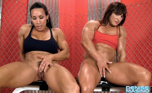 Denise Masino - Alicia Alfaro and Denise Masino Pumping Up - FBB|37,132 views