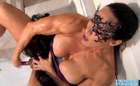 Denise Masino - Purple Toy Masquerade - Female Bodybuilder|27,681 views