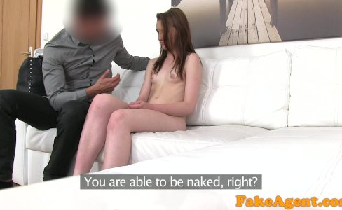FakeAgent Hot Young babe wants to get rich fast with blowjobs and fucking|61,995 views