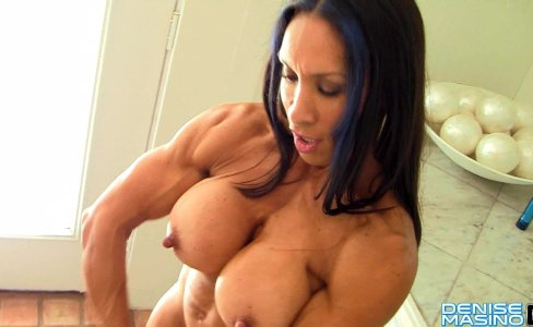 Denise Masino - Tropical Muscle Contractions - Female Bodybuilder|34,778 views