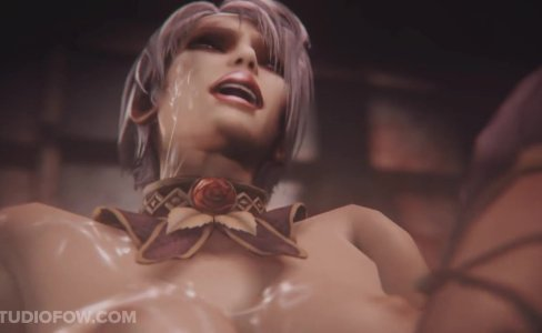 Ivy Valentine in Soul Calibur have sex|1,583 views