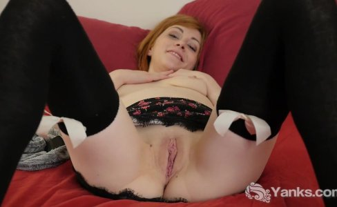 kinkyandlonelycom Stockinged alana masturbati|317 views