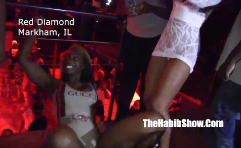 misty stone at red diamondss strip club |10,859 views