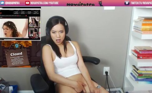 Gamer Girl NovaPatra Forgets To Turn Off The Stream|364,539 views