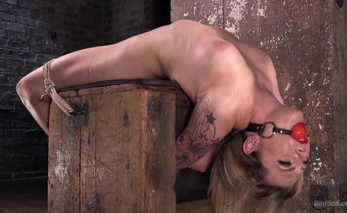 Dahlia Sky Submits to Torment in Punishing Bondage|65,328 views