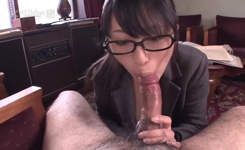 Nana Kunimi Sucks Boss Cock (Uncensored JAV)|71,812 views