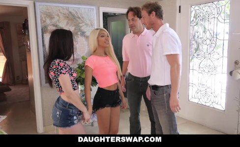 DaughterSwap - Swapped and Fucked During SleepOver|360,084 views