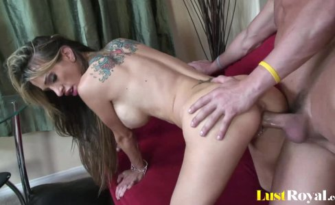 Trying out banging positions with busty Sarah Jessie|12,070 views