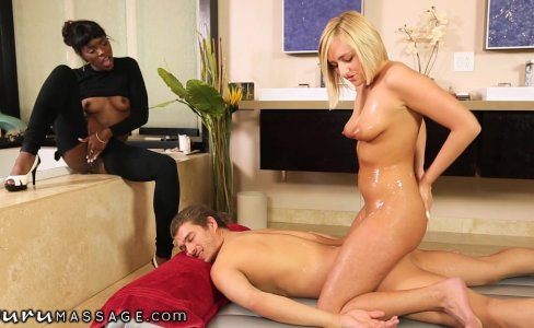 Nuru Massage Cumswapping Babes|132,707 views