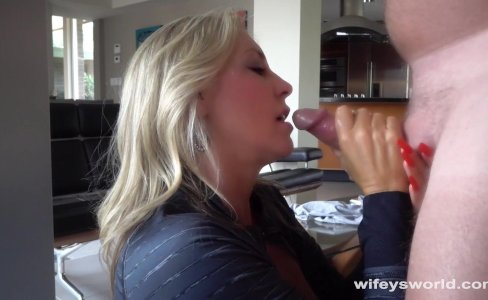 Wifey Swallows A Huge Cum Shot After Workout|59,382 views