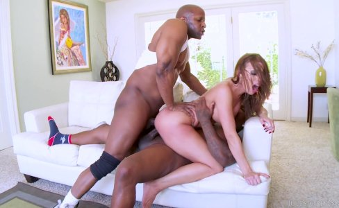 Britney Amber Black DP|10,994 views