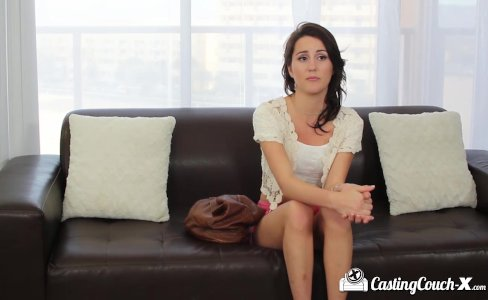 CastingCouch-X - Brunette Renne Roulette fucked on the casting couch|5,943 views