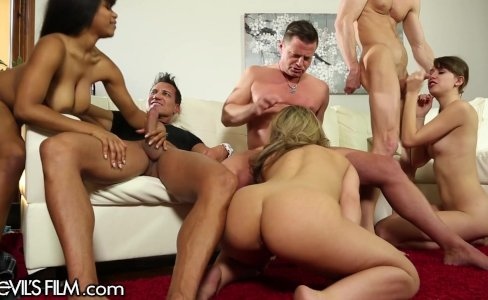 DevilsFilm Wife Swapping Orgy|73,674 views