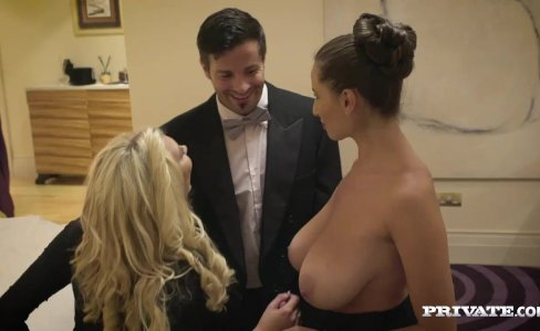 Sensual Jane has a Hot Threesome With Lexi Lowe|61,453 views
