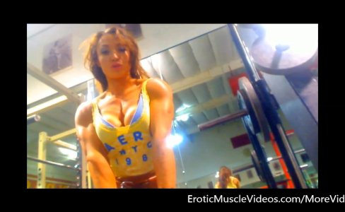 EroticMuscleVideos Big Guns Voyeur Pump|13,452 views