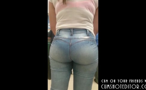 Young Teen With Great Bubble Ass Spycam|549 views