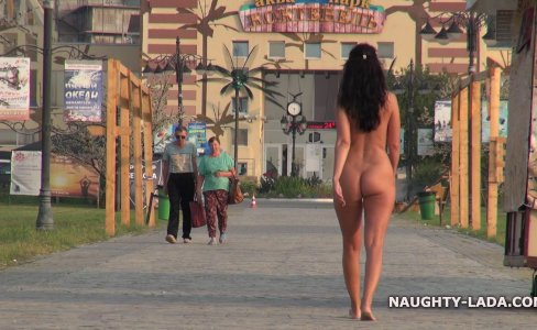 Nude and barefoot in public|19,079 views