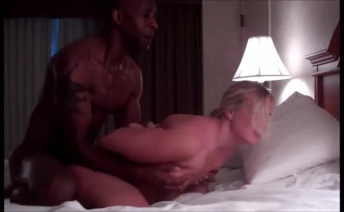 Cheating blonde wife fucked by BBC|1,225 views