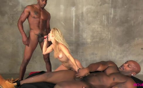 Ashley Fires in hard interracial anal gang bang|60,696 views