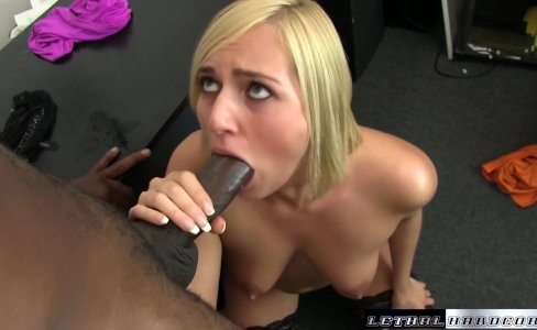 Black Cocks Matter - Teen Kate England rides her first BBC and cums|14,074 views