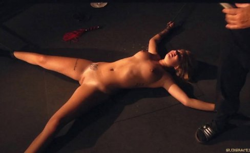 Whips, pleasure and pain for sub slave brutal fucked in bondage punishment|15,783 views