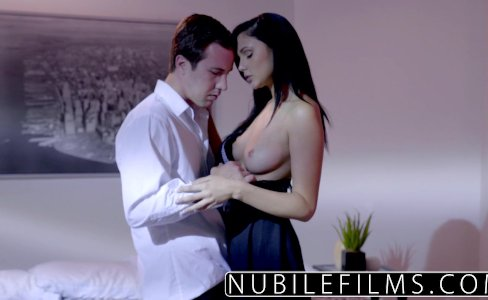 NubileFilms - Ariana Marie Milks Cum From Hard Cock|180,830 views