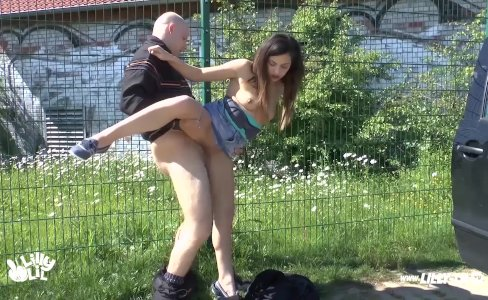Outdoor Public Doggystyle Amateur POV GERMAN Fuck Compilation|14,305 views